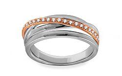 Diamantový prsteň 0,070 Delux Pink DB0022