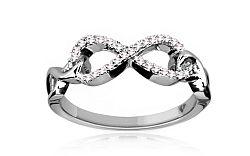 Diamantový prsteň 0,130 ct KU163