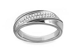 Diamantový prsteň 0,150 ct Delux white Vision DB0012A