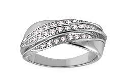 Diamantový prsteň 0,170 ct Delux Voice DB0013A