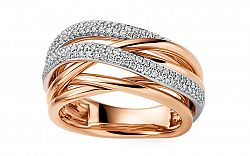 Diamantový prsteň 0.420 ct Dazzling DB0093