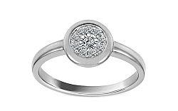 Diamantový prsteň Cynthia 0,200 ct KU188PN