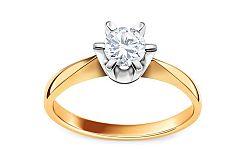 Diamantový prsteň Nela 0,500ct CSBR51