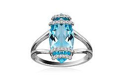 Diamantový prsteň Tamiss 0,130 ct KU189PN