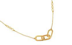 Dlhý zlatý náhrdelník 70 cm IZ9518NA fc0a33b05ca