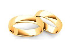 Klasické svadobné obrúčky 5 mm STOB10003