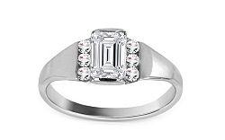 Krásny zásnubný prsteň Isarel 26 CSRI93A
