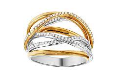 Luxusný diamantový prsteň Samia IZBR304