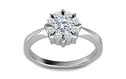Luxusný prsteň s 0,385 ct diamantmi Ardiente 5 KU0027