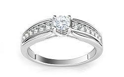 Luxusný prsteň s 0,440 ct diamantmi Ardiente KU0050A