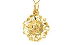 Medailón Panna Mária s Ježiškom IZ8457