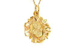 Medailón Panny Márie s Ježiškom IZ8429