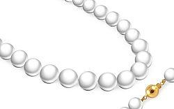 Perlový Biwa náhrdelník Belinda PE183NP