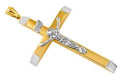 Prívesok kríž s Ježišom Kristom IZ7936