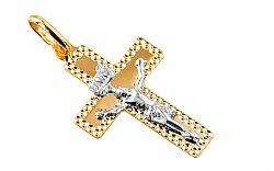 Prívesok krížik s Ježišom Kristom IZ7601