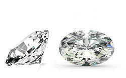 SI1 F 0.9 ct diamant certifikát HRD brus Oval IZDI921