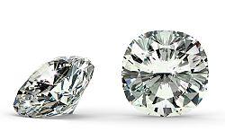 SI2 F 0.18 ct diamant certifikát GIA brus Cushion IZDI1343