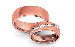 Svadobné obrúčky s diamantmi 0,540 ct šírka 6 mm STOBR292R