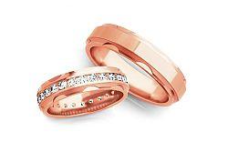 Svadobné obrúčky s diamantmi 1,200 ct šírka 5 mm STOBR175R