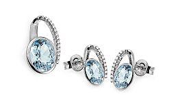 Topásová súprava s diamantmi 0.150 ct Danila DB0077AS