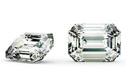 VS2 H 0.9 ct diamant certifikát GIA brus Emerald IZDI1489