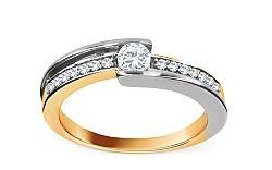 Zásnubný prsteň 0,280 ct Magic Bloom 1 KU218