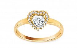 Zlaté zásnubné prstene - Žlté zlato  5ac0503ac17