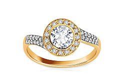 Zásnubný prsteň Elise 9 CS9RI1505