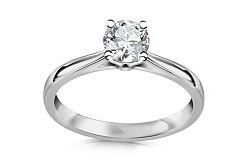 Zásnubný prsteň Estelle s diamantom 0,500 ct CSBR52A