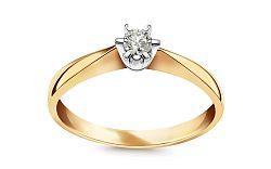 Zásnubný prsteň s 0.110 ct diamantom Nela young CSBR41