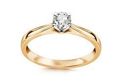 Zásnubný prsteň s 0.221 diamantom ct Estelle large CSBR38