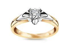 Zásnubný prsteň s 0,230 ct diamantom Always big CSBR27