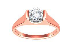 Zásnubný prsteň s 0,250 ct diamantom Magic Forever pink KU193R