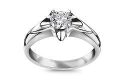 Zásnubný prsteň s 0,510 ct diamantom Always big white CSBR50A