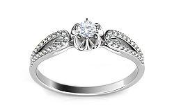 Zásnubný prsteň s diamantmi 0,250 ct Marissa 1 KU0020