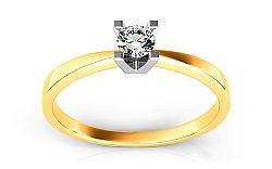 Zásnubný prsteň s diamantom 0,090 ct Promise 1 ARBR01Y