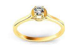 Zásnubný prsteň s diamantom 0,110 ct Promise 8 ARBR10Y
