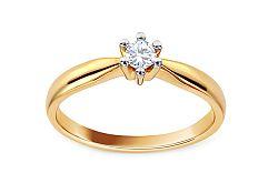Zásnubný prsteň s diamantom Christine KU514