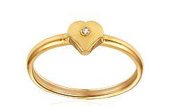 Zásnubný prsteň s diamantom Jasmina yellow IZ6804Y