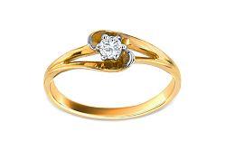 Zásnubný prsteň so zirkónom Pretty CSRI1343