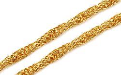 Zlatá dámska retiazka 4 mm IZ9531