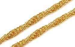 Zlatá dámska retiazka 5 mm IZ9532
