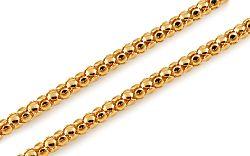 Zlatá elegantná retiazka 2,5 mm IZ10894