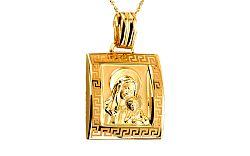 Zlatá Panna Mária s Ježiškom IZ6555