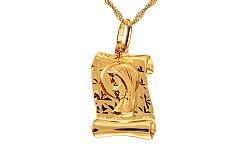 Zlatá platnička Panna Mária IZ10643