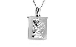 Zlatá platnička s anjelom IZ8681A