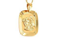 Zlatá platnička s Ježišom IZ8492