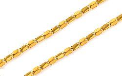 Zlatá retiazka Beads 1,5 mm IZ7803