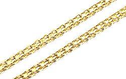Zlatá retiazka Bismark 4 mm IZ4912