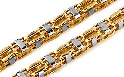 Zlatá retiazka Detroit 6 mm IZ6311